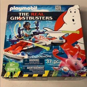 Play mobile ghostbusters zeddemore set